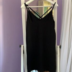 TOPSHOP Black Mini Dress